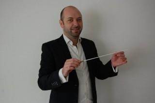 Foto dirigent Joris Lumeij