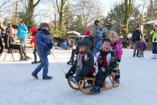 123Swingplein is in winter ijsbaantje, foto PR Openluchttheater Eibergen, Raph Schouten