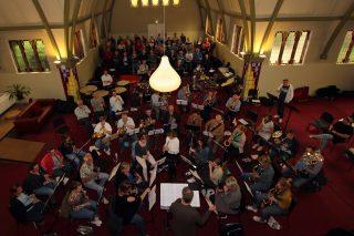 Zomerklanken Schaapskooi Concert Euphonia en Eibergs Mannenkoor